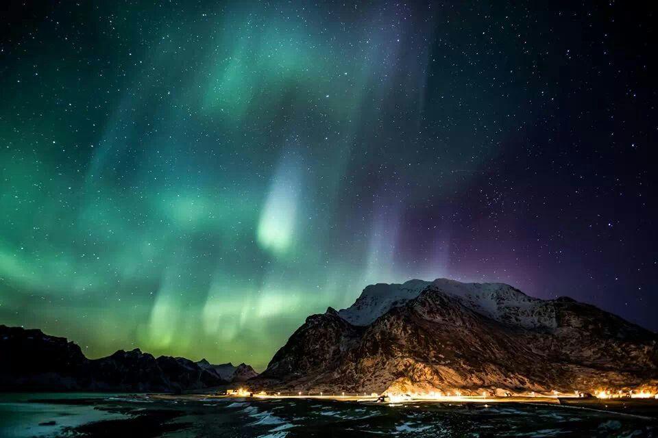 Aurora over Lofoten Islands, Norway