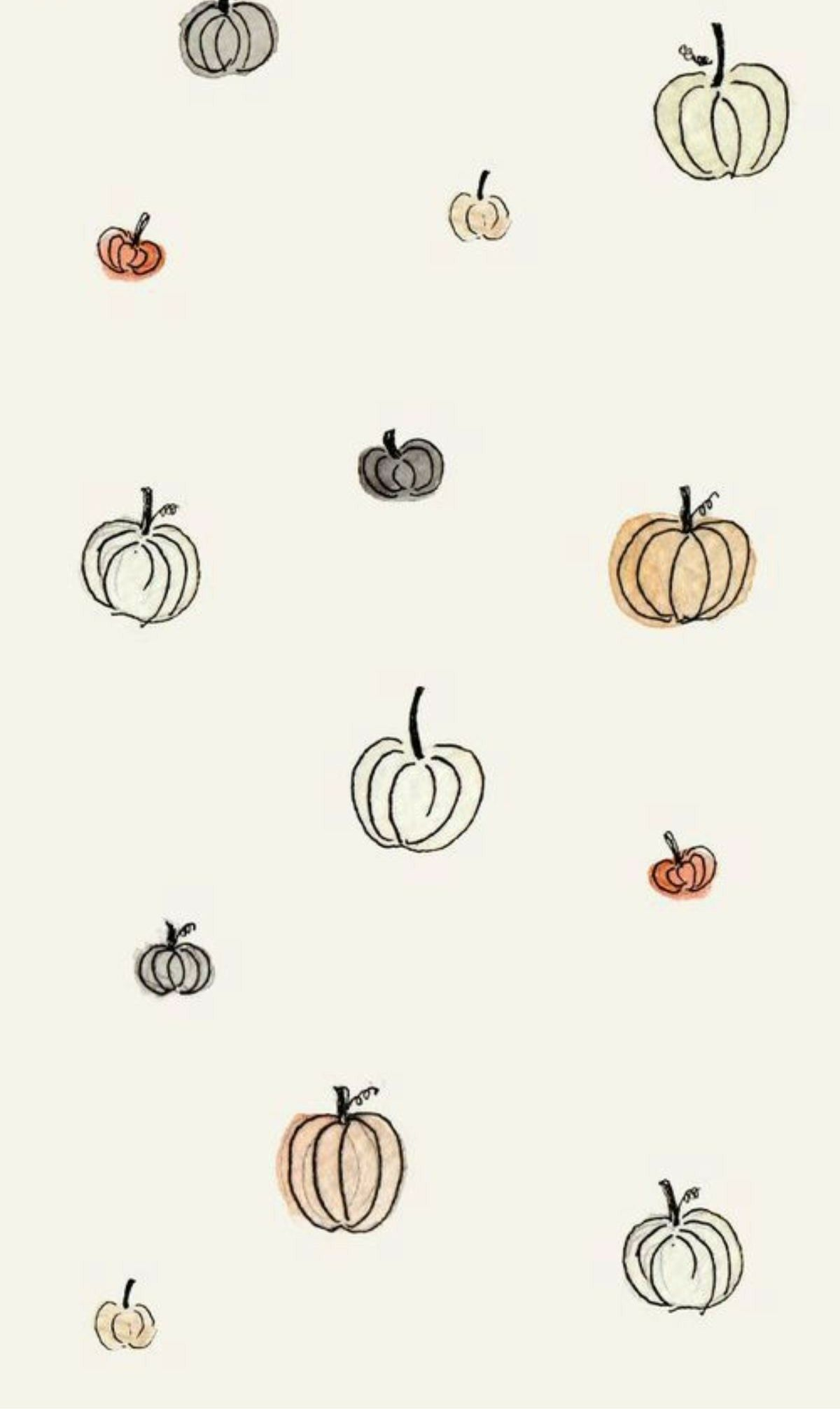 Fall Pumpkins In 2019 Iphone Wallpaper Fall Fall