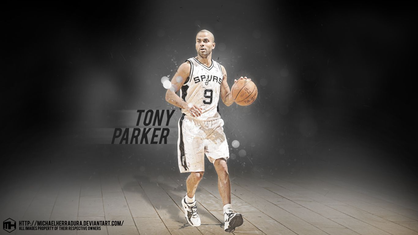 Tony parker wallpaper by michaelherraduraiantart on tony parker wallpaper voltagebd Choice Image
