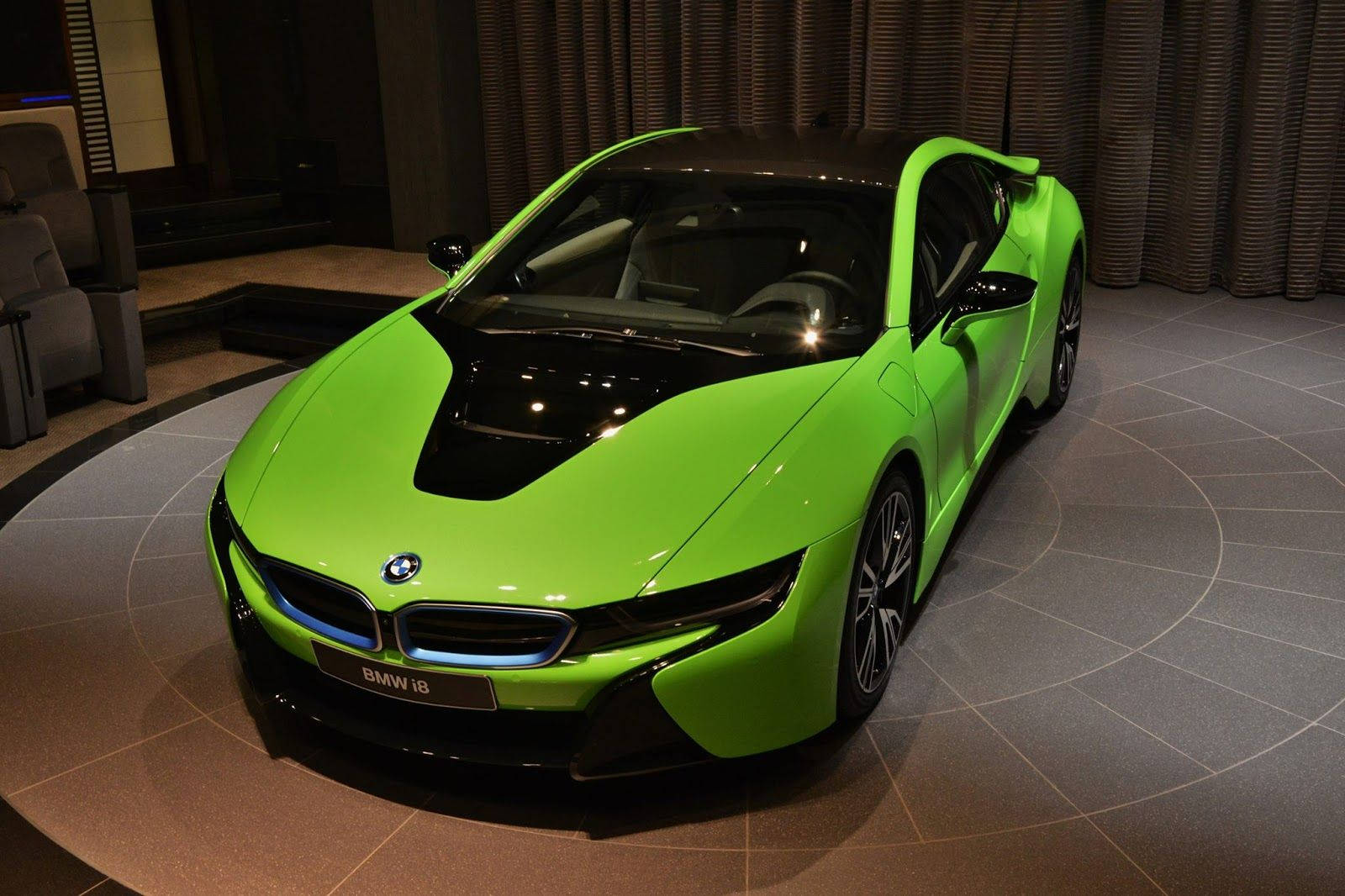 Superb The 2016 BMW I8 Lime Green Sports Car. This Would Be A Pretty Good Option  For That Sunday Drive Around Town.