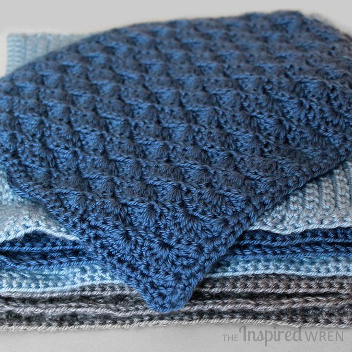 Square 5! Crochet Along Afghan Sampler (May) | Pinterest | Wren ...