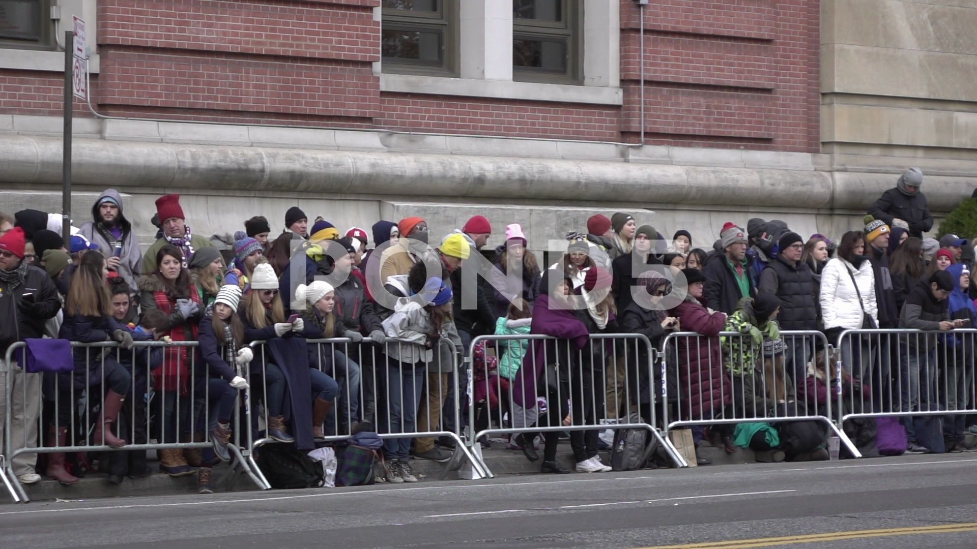 Crowds Of People Waiting For Parade In Slow Motion Stock Footage Ad Waiting Parade Crowds People Parades Crowd Macy S Thanksgiving Day Parade