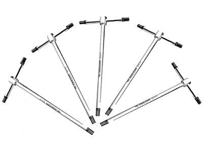 Facom T Handle Hex Key Set 5pc 84tc Je5 Hex Key Tool