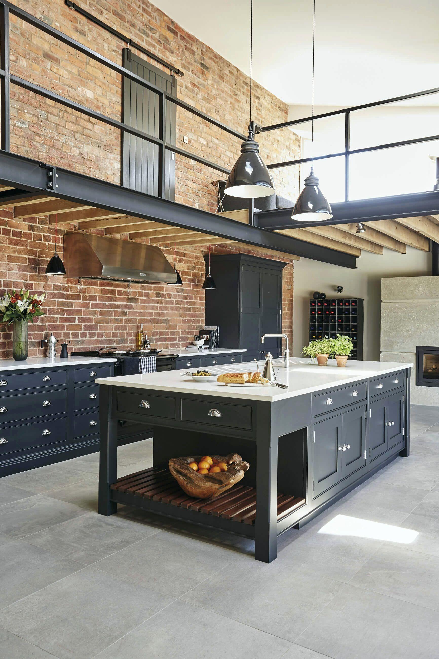 Design de cuisine de style indistriel - Déco & tendance #salon