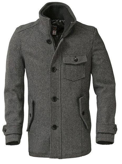 Wool Car Coat by Schott