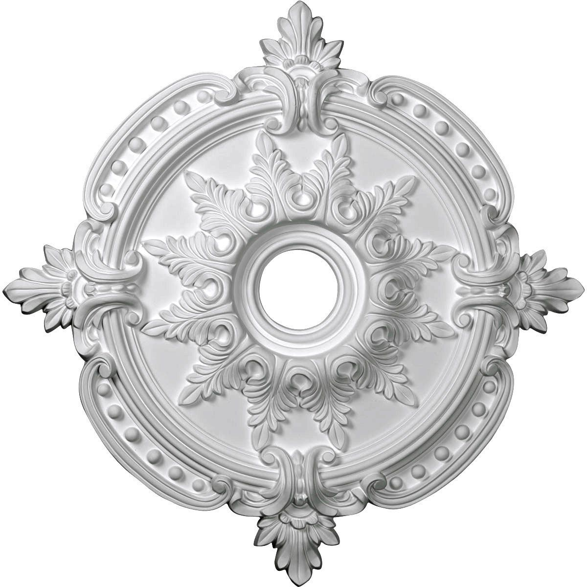 the millwork d in n ekena medallion accessories medallions ceiling lighting x o b
