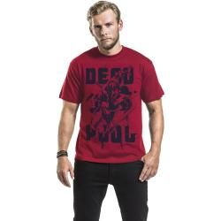 Photo of Deadpool Red Attack T-Shirt