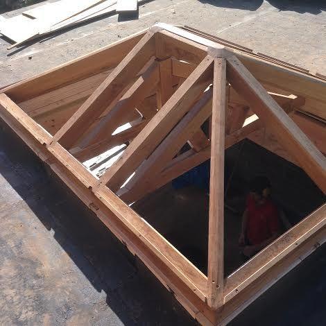 Green Oak Frames Builders Lutterworth Roof Lantern Green Oaks Roofing Options