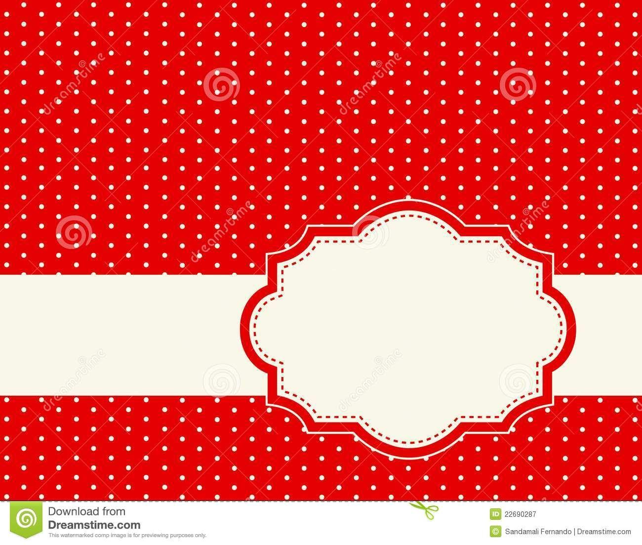 Retro Polka Dot Background Stock Images Image 24936794