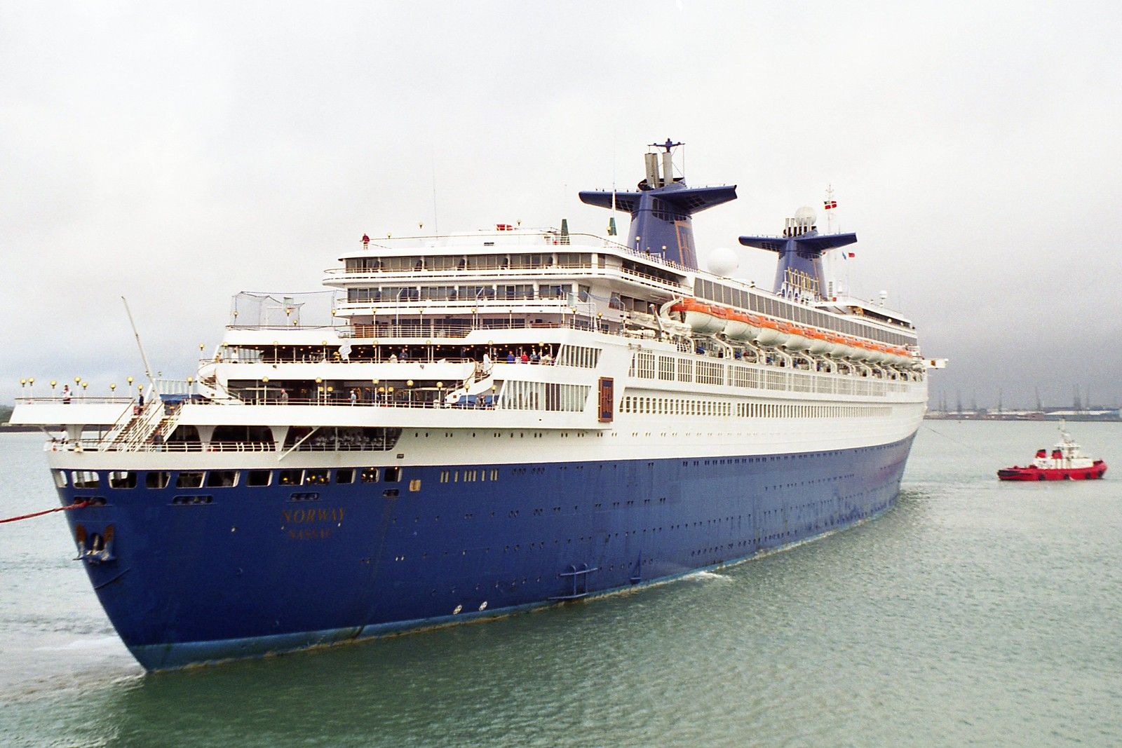 Information on the SS Norway Cruise Ship