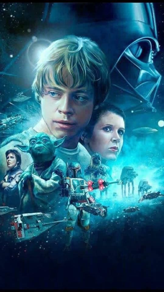 Return Of Jedi Art Star Wars Pictures Star Wars Wallpaper