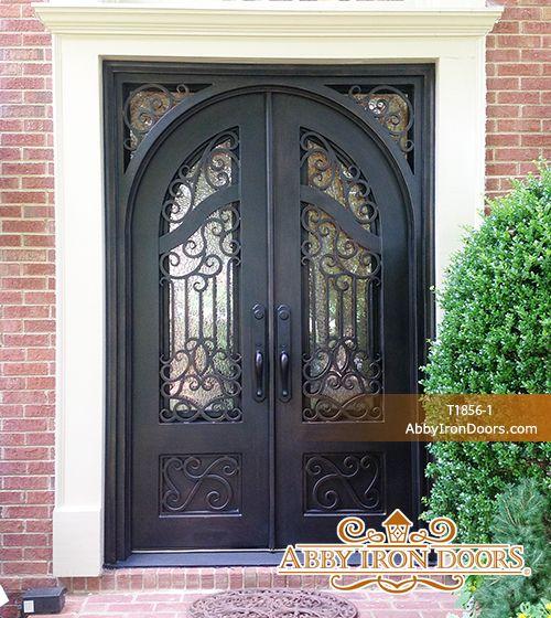 Incroyable Abby Iron Doors