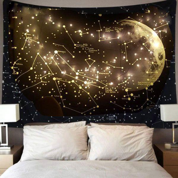 Moon Constellations Tapestry - ApolloBox #walldecoration #walldecor #hangingdecoration