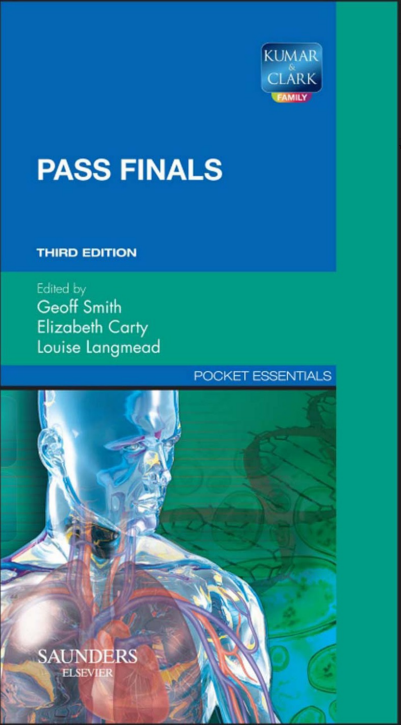 Kumar Clark S Pass Finals 3rd Edition Pdf Free Medical Medical Edition