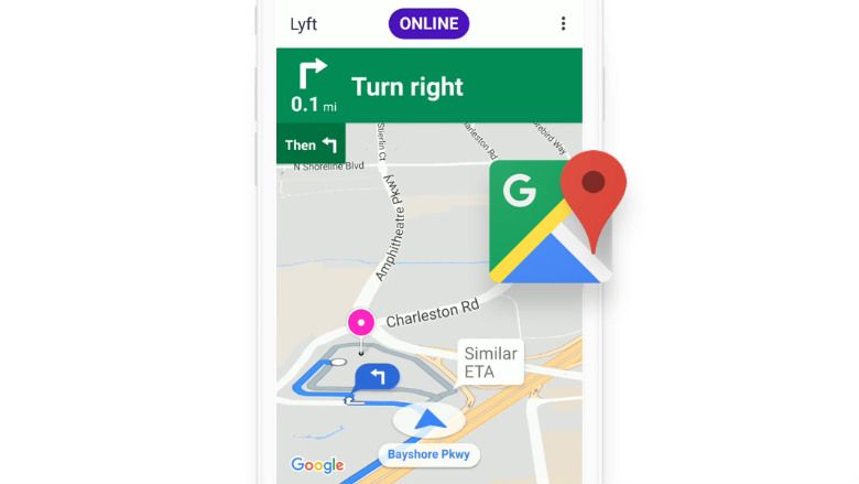 Google Maps now the default navigation app for Lyft