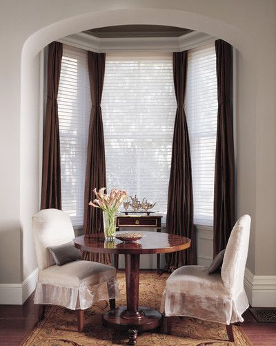 These Dining Room #window #coverings Do A Great Job Of