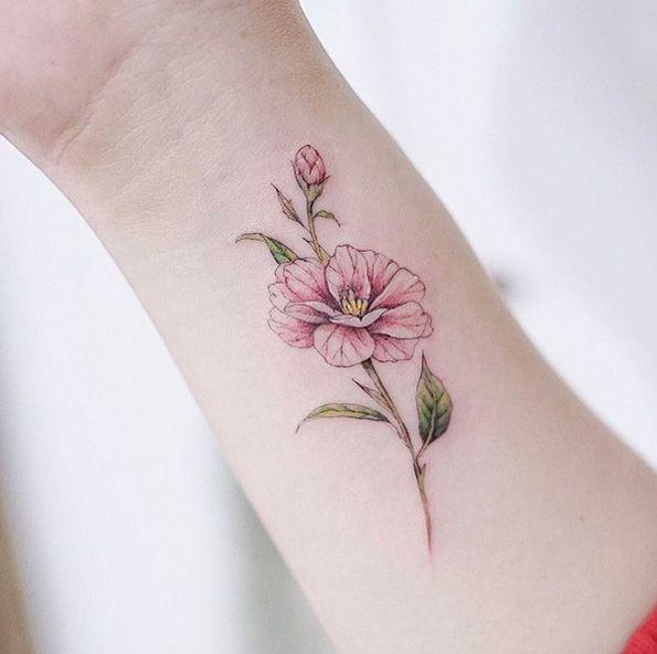 Camellias By Anzo Choi Hinh Xăm Hinh Xăm Ngầu Xăm