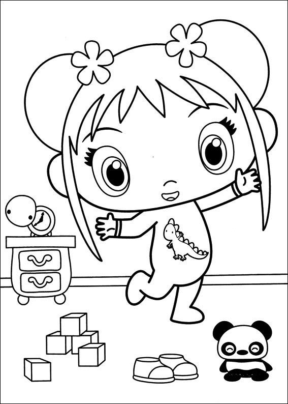 Coloriage Dessins. Ni Hao Kai-Lan 31 | Coloriage Dessins pour les ...