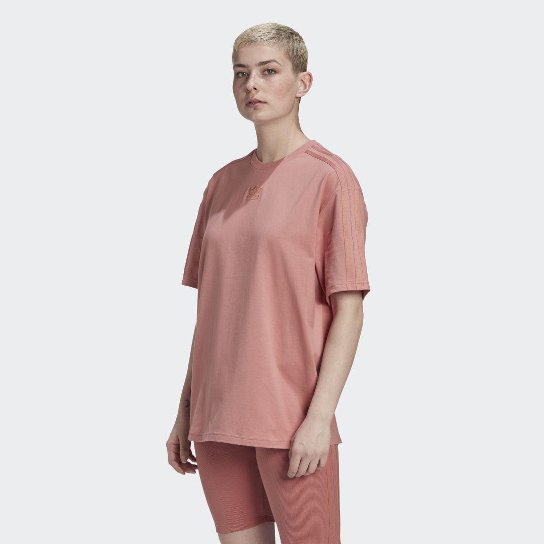 adidas Oversized T-Shirt - Pink | adidas US