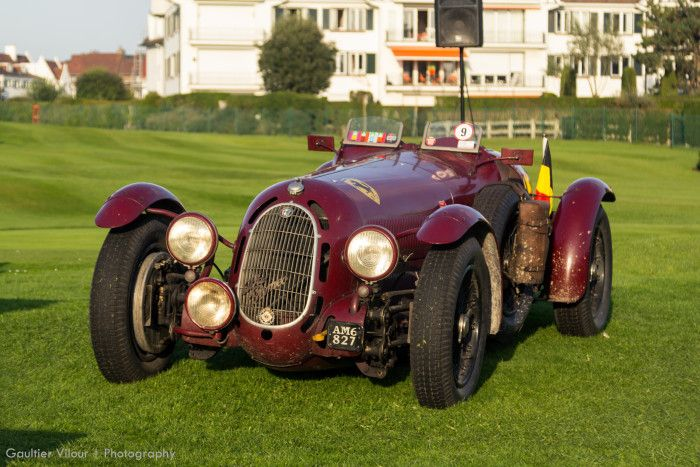 alfa romeo 8c 2900a boticelli au zoute grand prix photo. Black Bedroom Furniture Sets. Home Design Ideas