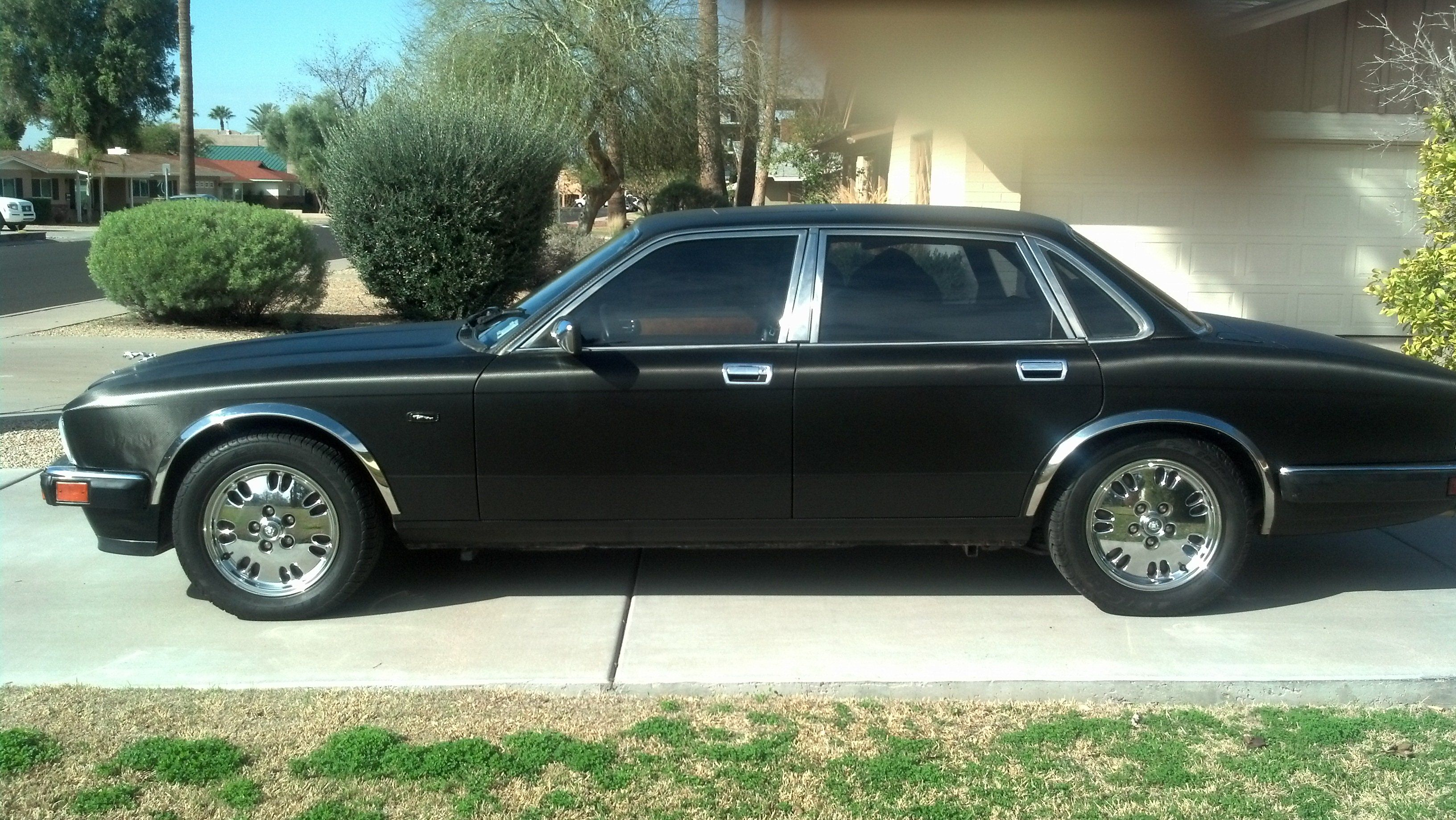 1994 jaguar xj6 carbon fiber black