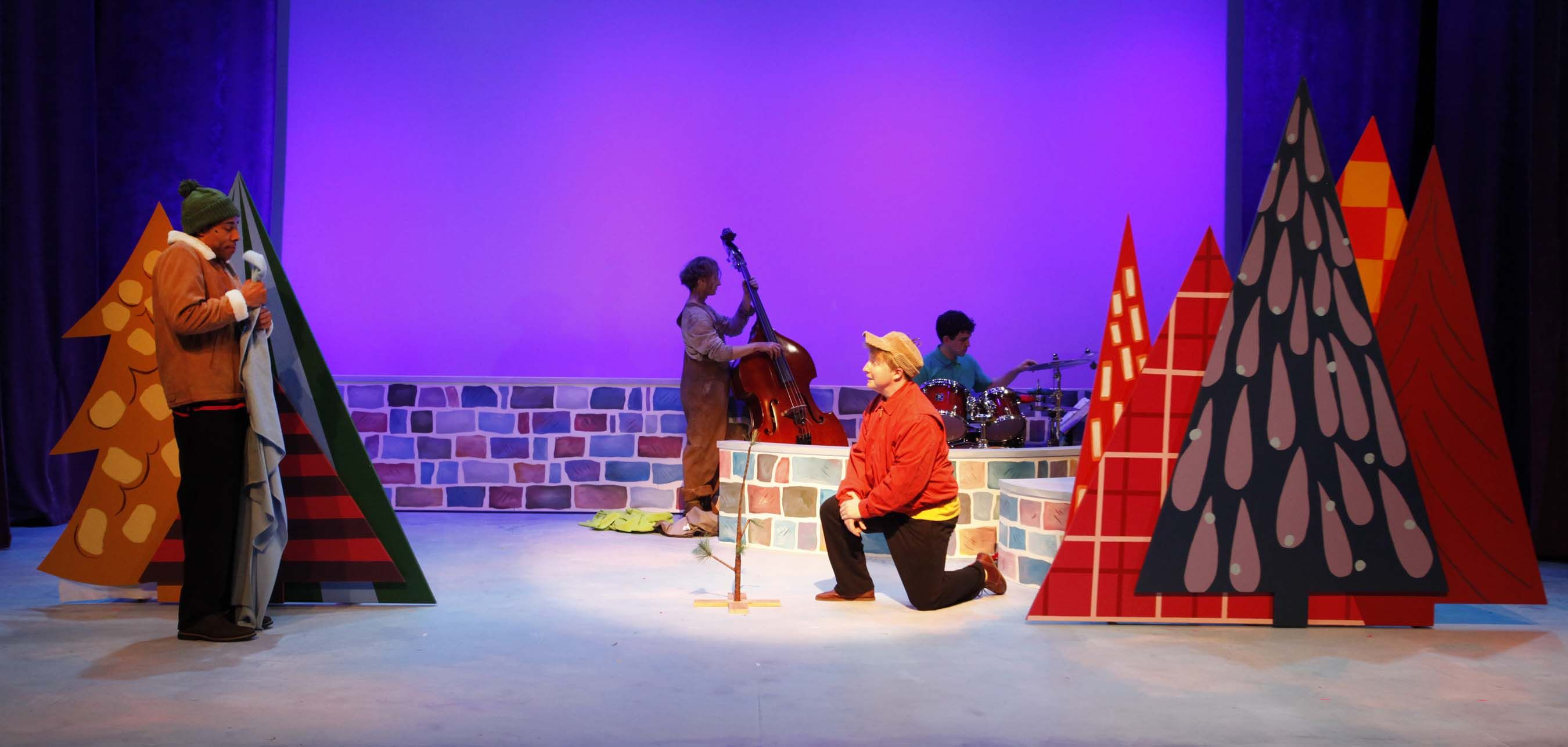 A Charlie Brown Christmas Play.A Charlie Brown Christmas Carousel Theatre For Young