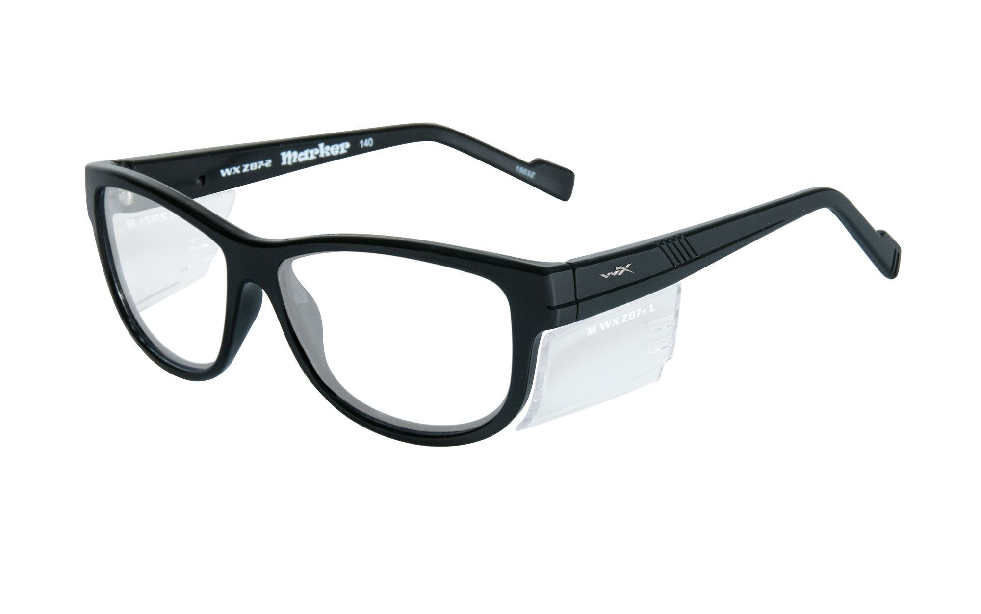 Matte Black Frame Eyeglasses Wiley X Worksight Wx Profile Clear