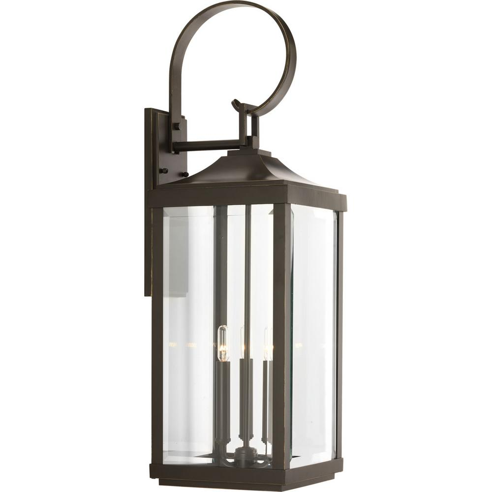 Progress Lighting Gibbes Street Collection 3 Light Antique