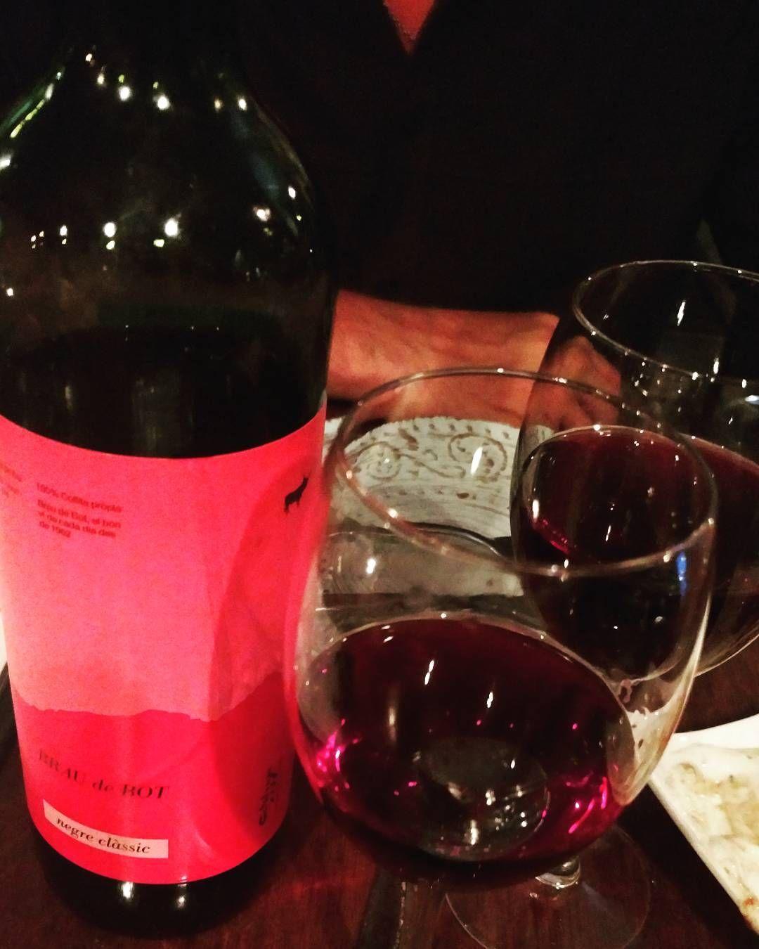 Bout Last Nite Wine Winetasting Elborn Barcelona Brostrip Vino Tinto Travelgram Restaurant Catalonia Espana Restaurantes Vino