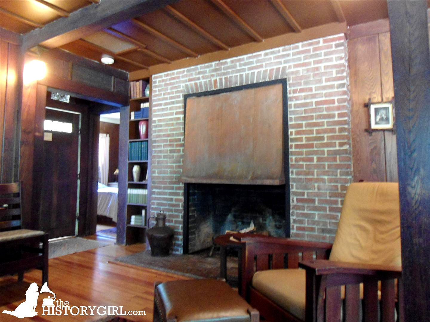 North Cottage interior. Craftsman Farms was founded in 1908 in Parsippany-Troy Hills, NJ, by noted early 20th century designer Gustav Stickley, as a farm and school for the Arts and Crafts movement. He built an iconic log cabin in 1911 that became his home. The farm remained until 1915 when it was sold to a family and became a private residence. When threatened with demolition in 1989, the property was purchased by the town to become a museum site. Discover more history…