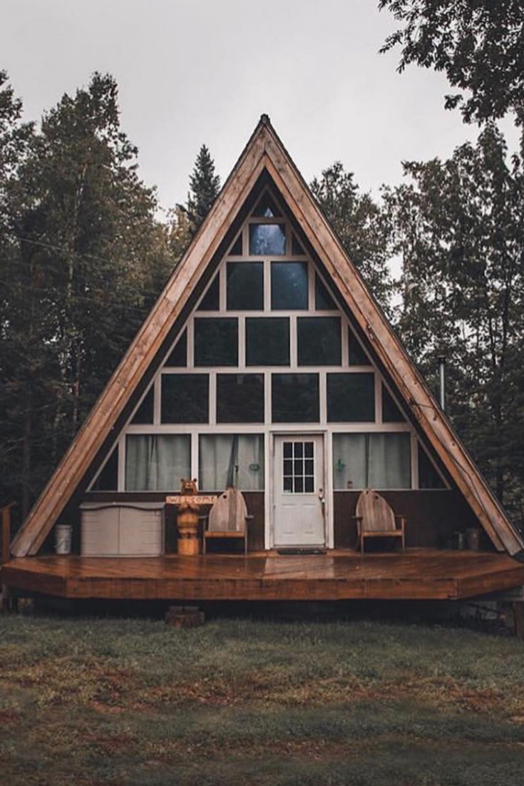 45 Genius Ideas For Your Tiny House Project In 2020 House Tiny House Cabin Small House