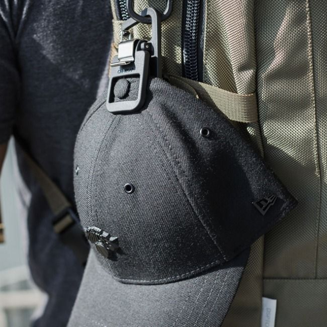 Photo of The CapSnap hat clip gives you the ability to bring your hat anywhere, attaches …