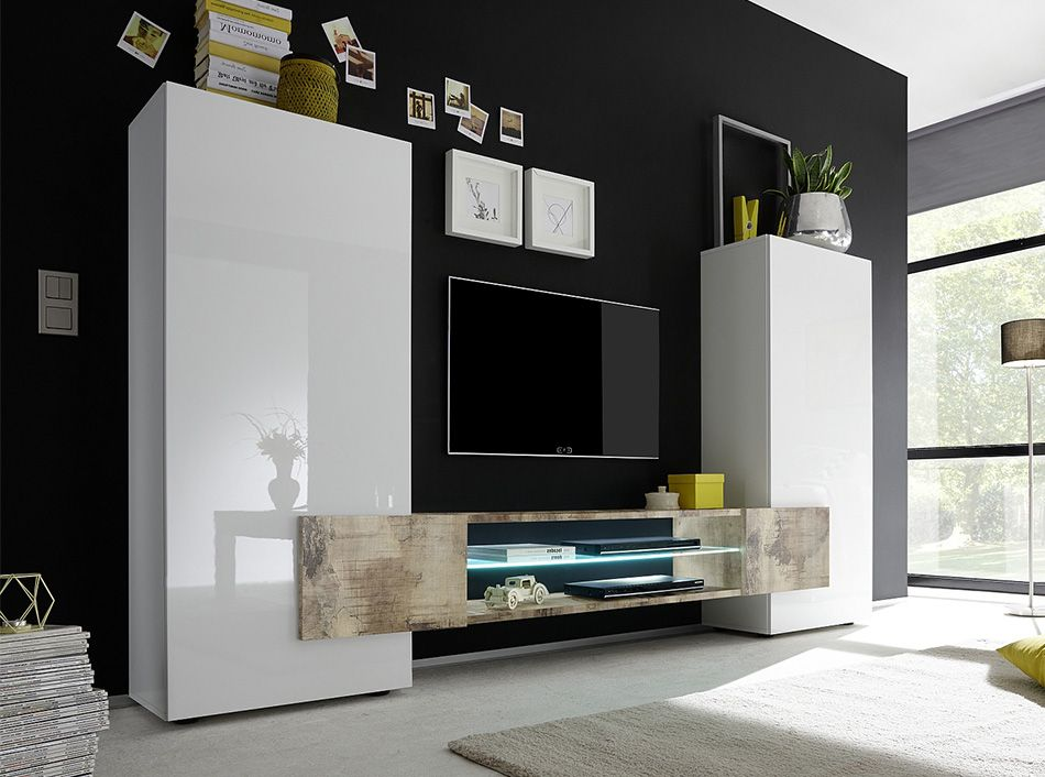 Gierre Mobili ~ Incastro wall unit tv stand by lc mobili  design