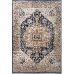 Photo of benuta Teppich Yara Beige/Blau 300×400 cm – Vintage Teppich im Used-Look benuta