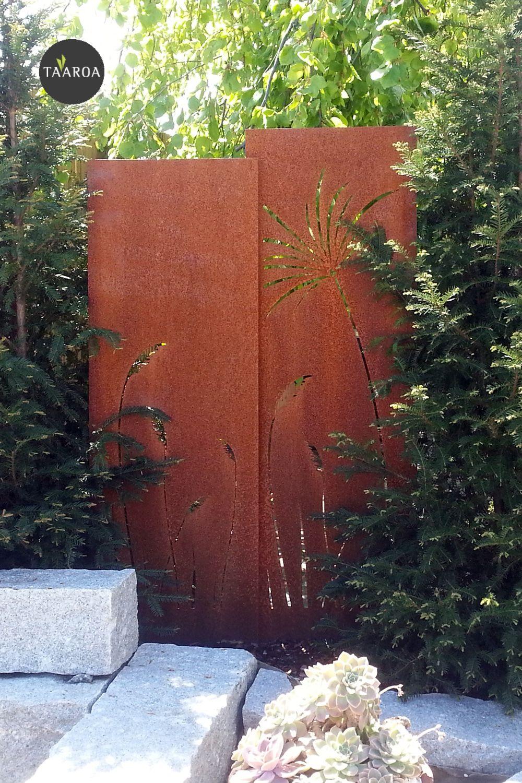 Pin Von Taaroagarten Auf Muro Sichtschutzwande In 2020 Sichtschutzwande Garten Wand