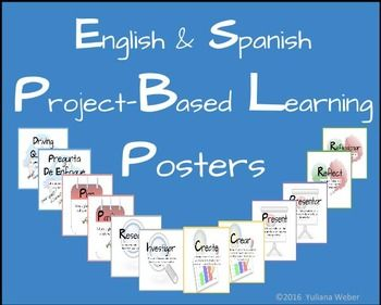 Project Based Learning Posters English Spanish Project Based