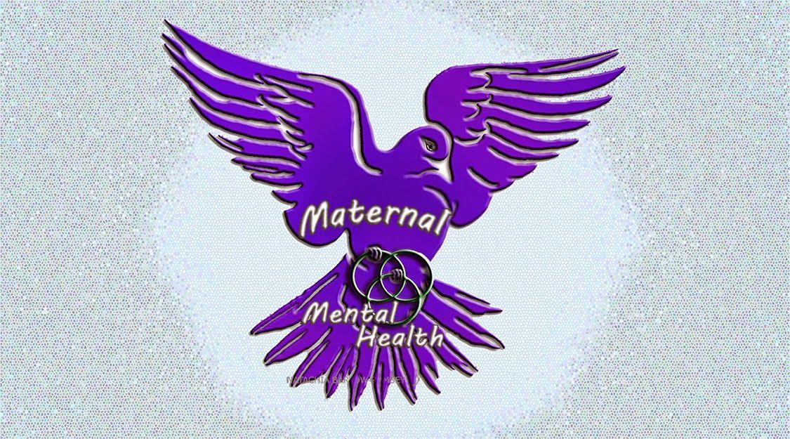 Maternal Mental Health Symbol Postpartum Psychosis Natachia Barlow