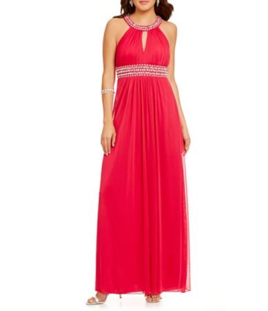 Shop for B. Darlin Beaded Trim Gown at Dillards.com. Visit Dillards.com to find clothing, accessories, shoes, cosmetics & more. The Style of Your Life.