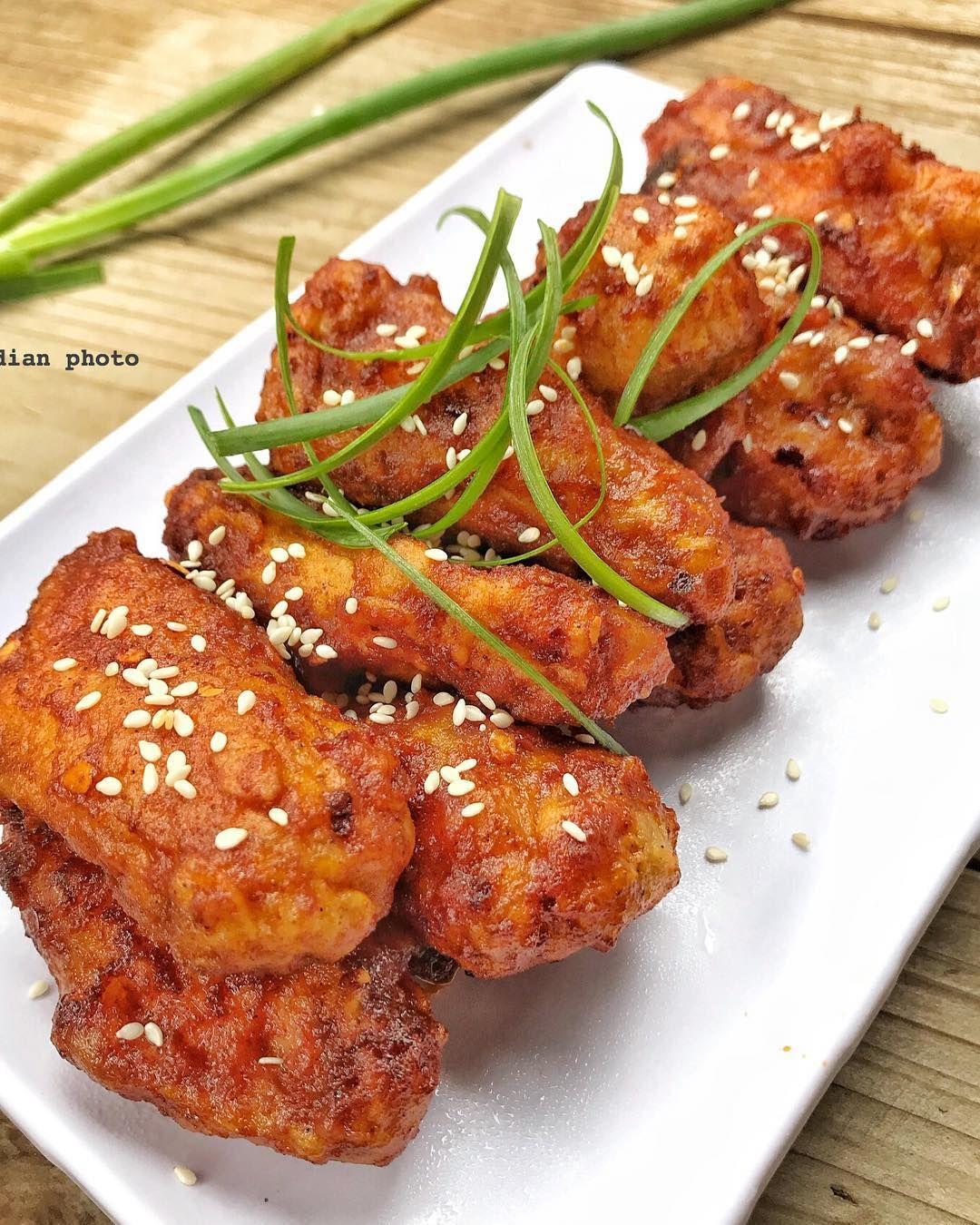 Resep Fire Wings Ala Korea By Dianayupuspitasari Sayap Ayam Masakan Makanan
