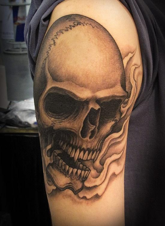 100 awesome skull tattoo designs tattoo designs tattoo and tatoos. Black Bedroom Furniture Sets. Home Design Ideas