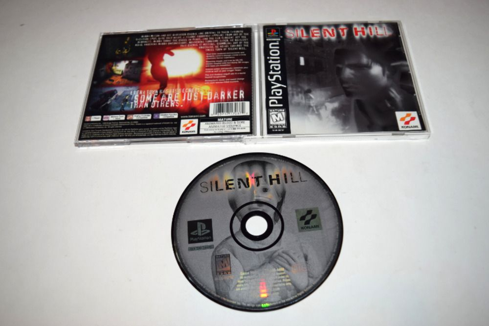 Silent Hill Playstation Ps1 Video Game Complete Ps4 Gaming Video Silent Hill Playstation Ebay