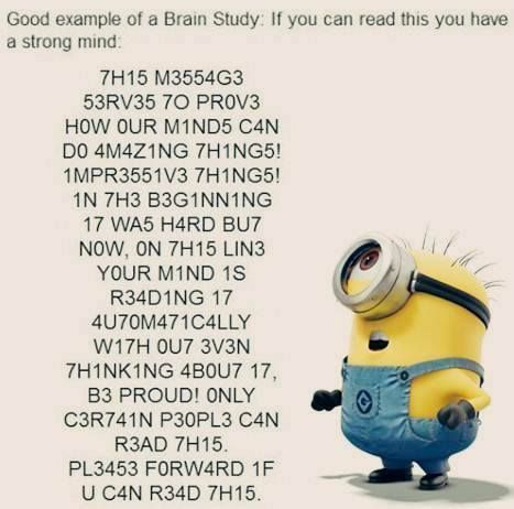 Can You Read It Then You Must Be A Minion Fun Quotes Funny Funny Quotes Short Funny Quotes