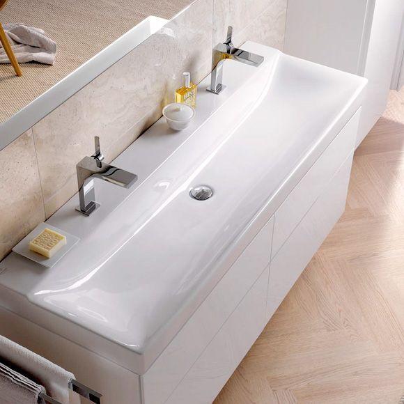 Doppelwaschbecken Mit Unterschrank 120