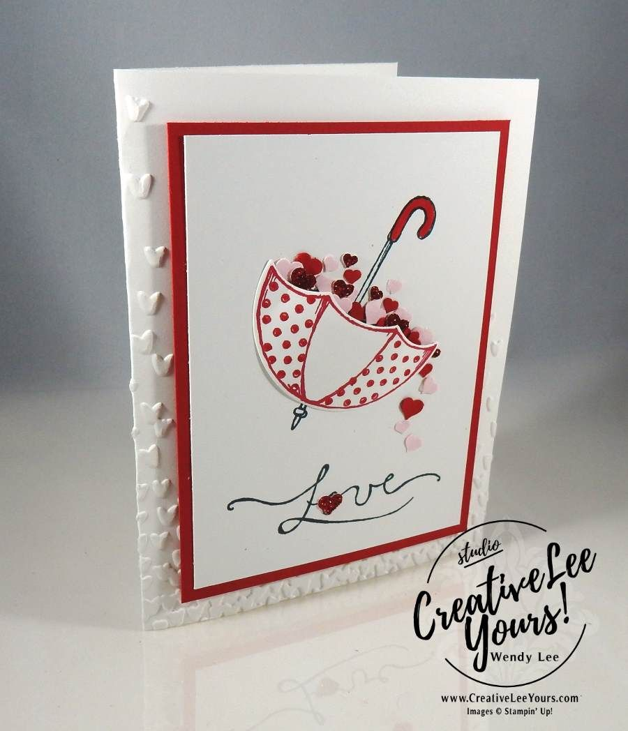 Love You by Wendy Lee, Stampin Up, #creativeleeyours,Jan 2017 FMN ...