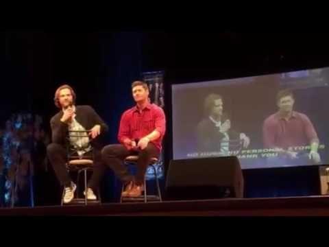 Minncon 2016: Jensen and Jared main panel FULL via periscope by @kayb625 - YouTube