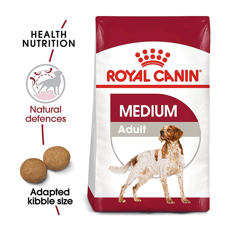 Peteat Royalcanindogfood Medium Adult 15kg Amazon Royal Canin