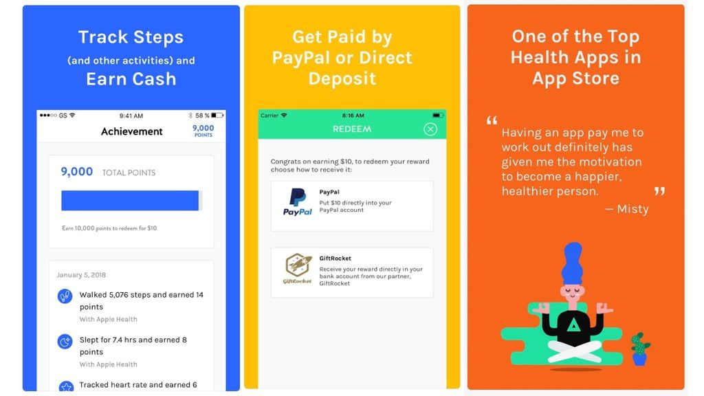 Achievement Health app, App, Apps that pay you