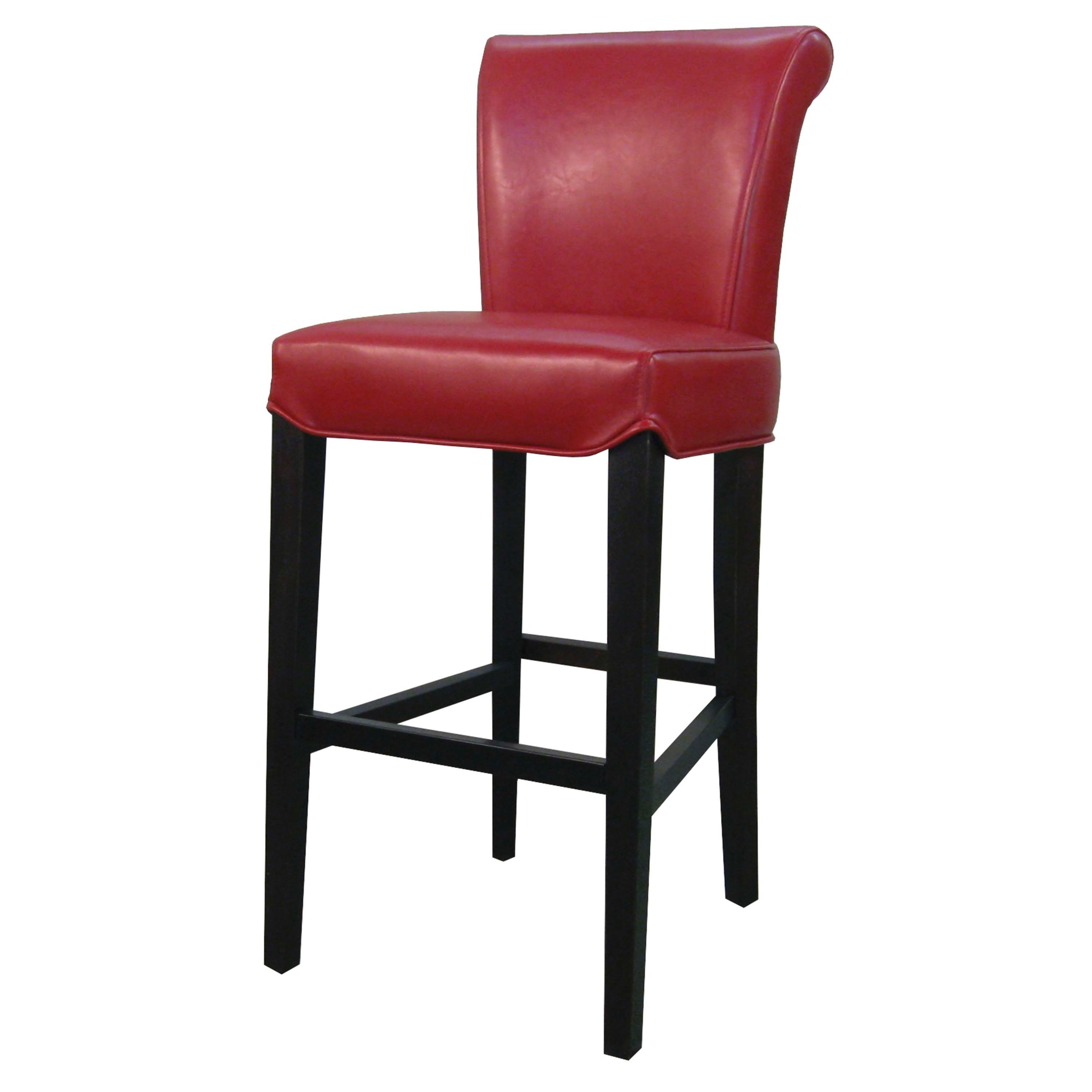 Stupendous Sierra Leather Bar Stool Red Cubitt Leather Counter Gmtry Best Dining Table And Chair Ideas Images Gmtryco