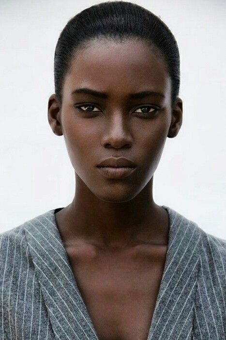 Face Female Reference Beautiful Dark Skin Dark Skin Women