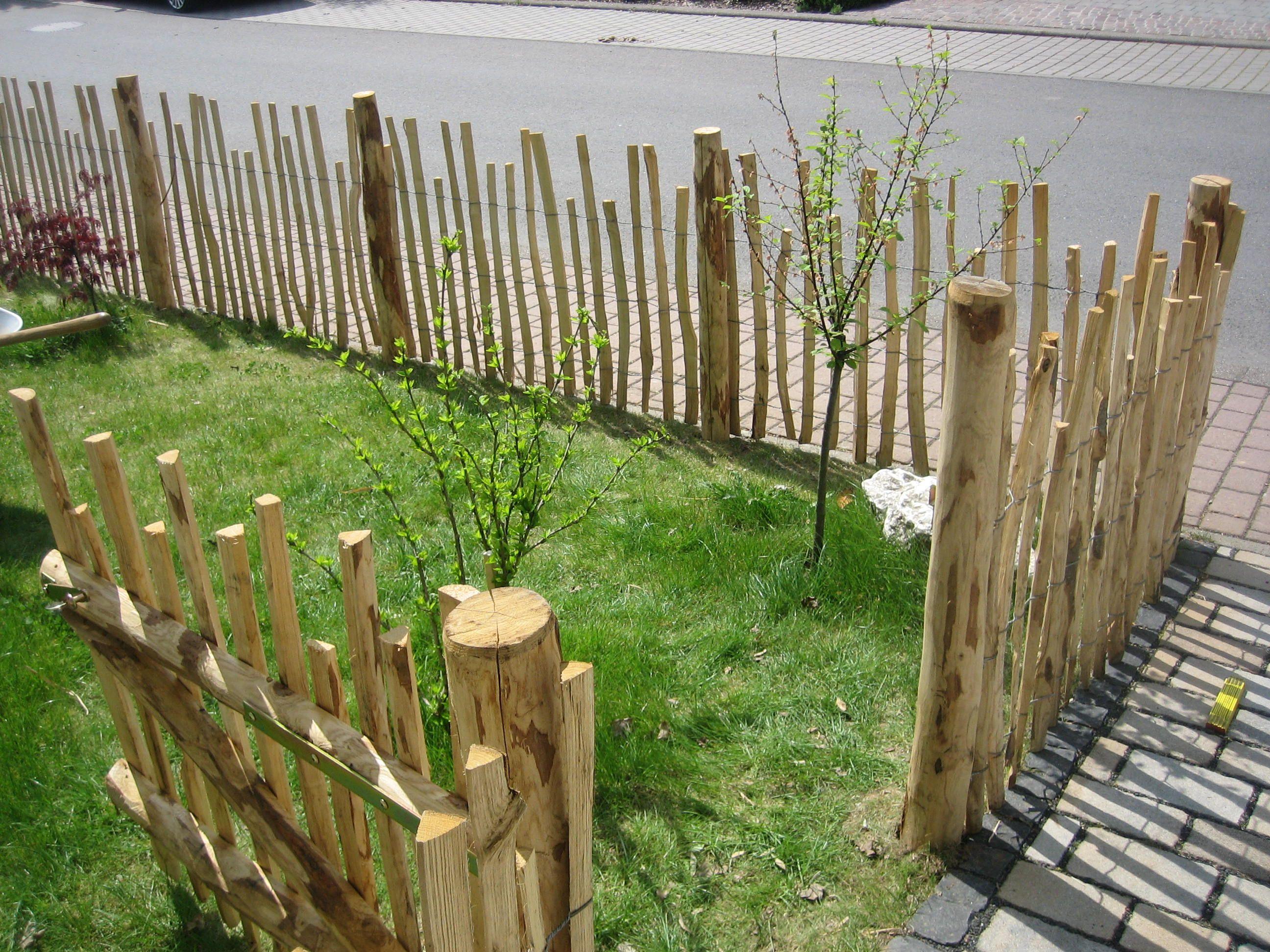Staketenzaun Hoppegarten Hohe 1 20m Lattenabstand 5 Cm Rolle 5m
